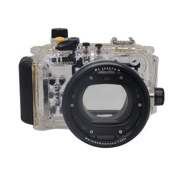 Mcoplus Underwater Waterproof Diving Housing Case 40M 130ft for Canon WP-DC47 Powershot S110 WPDC47
