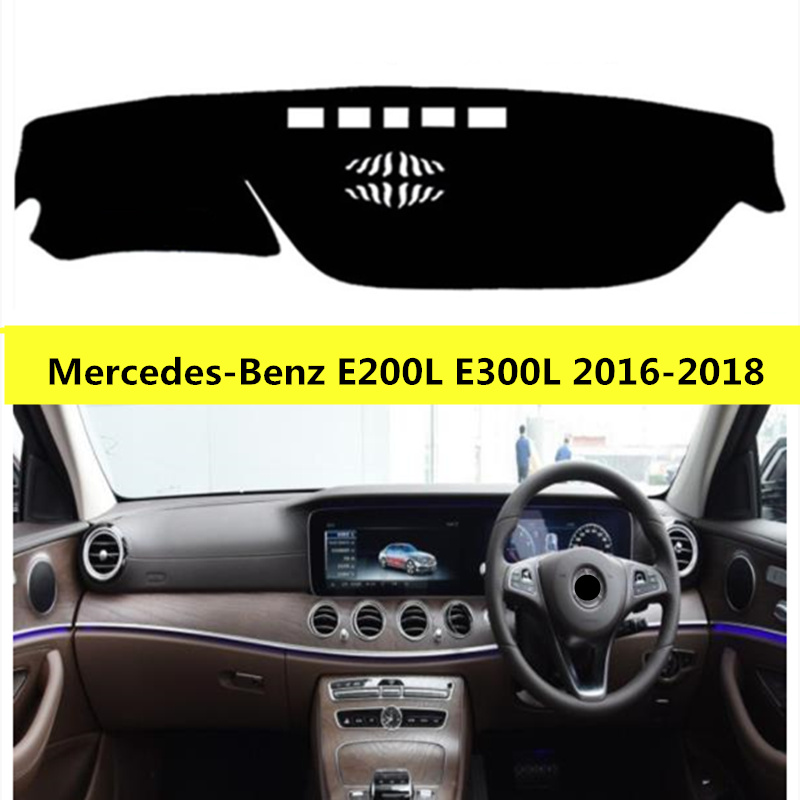 TAIJS Right Hand Drive Car Dashboard Mat For Mercedes Benz