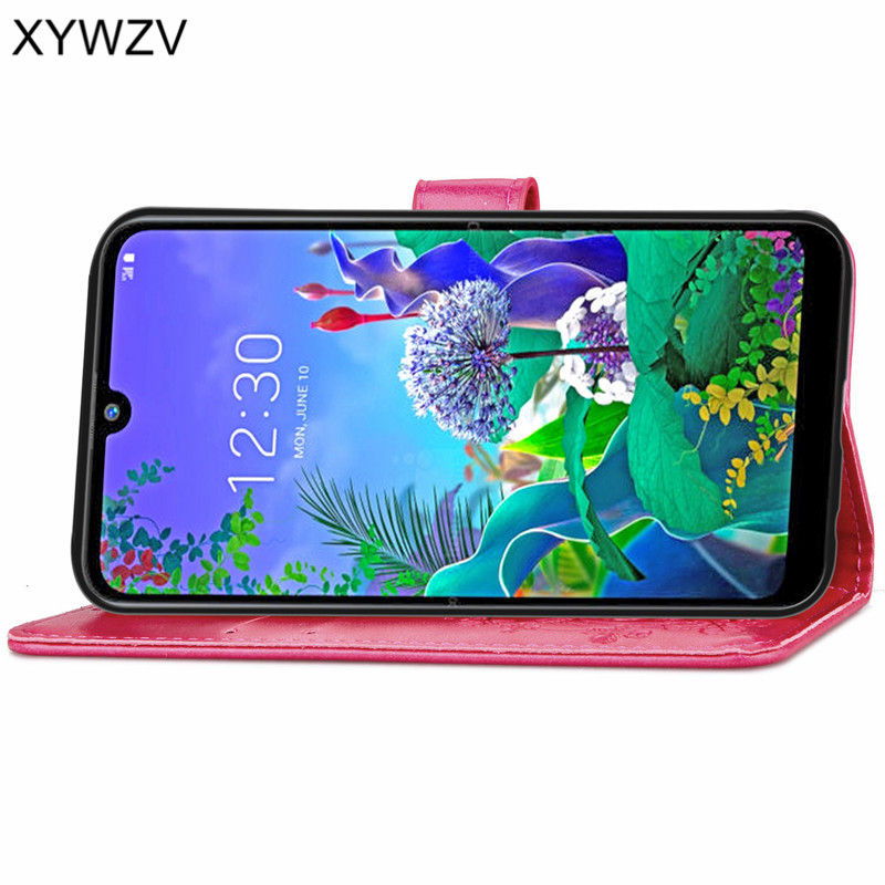 Image 4 - For LG Q60 Case Soft Silicone Filp Wallet Luxury Shockproof Phone Bag Case Card Holder Fundas For LG Q60 Back Cover For LG Q60-in Flip Cases from Cellphones & Telecommunications