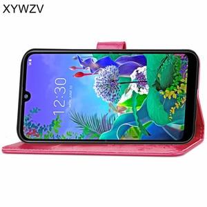 Image 4 - For LG Q60 Case Soft Silicone Filp Wallet Luxury Shockproof Phone Bag Case Card Holder Fundas For LG Q60 Back Cover For LG Q60
