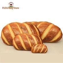 plush bread pillow stuffed soft bread toy simulation plush food cushion funny kid toys
