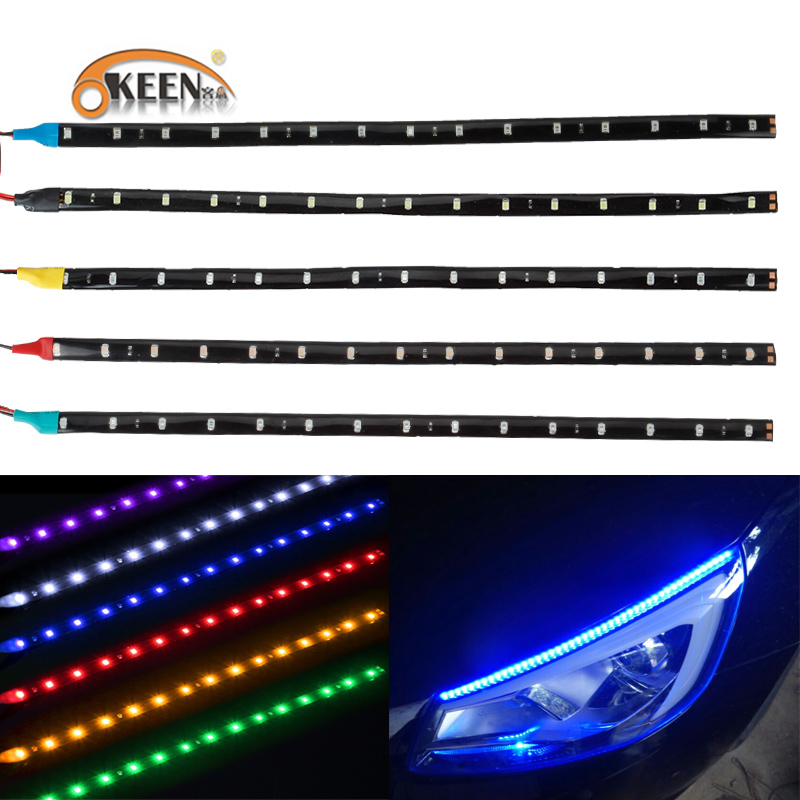 Keen Flexible Short Led Strip 3528 15smd 30cm Decoration