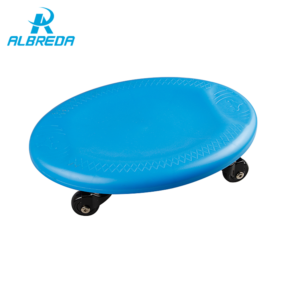 ALBRED 2017 Fitness Equipment Plate abdominal training wheel abdomen fitness drawing roller home sports equipment Abdominal disc