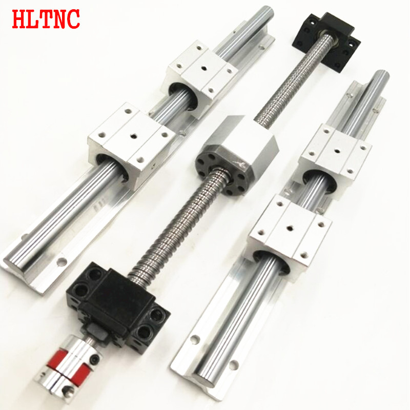 4 ballscrews RM1204-300/600/1000/1000mm  +3linear railsSBR16-300/600/1000mm sets +4BK/BF10 +4 nut housing +4  couplers for CNC кабель n2xs fl 2y 1x50 rm 16