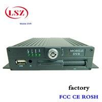 Fábrica RUSSION cartão sd 4ch mdvr dvr móvel h.264 PAL/NTSC AHD dvr Ônibus