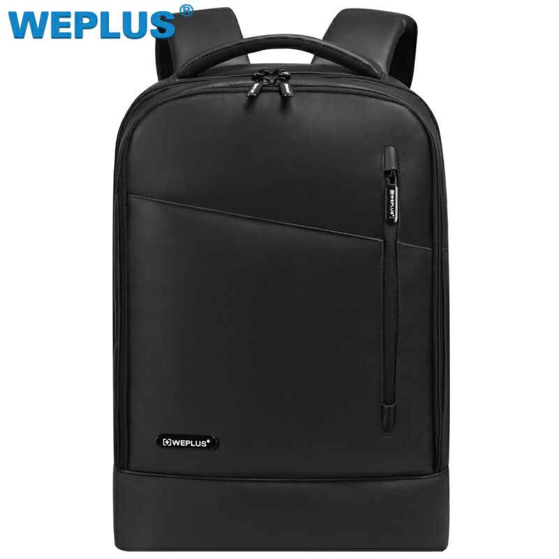 e4f2a51f81b8 WEPLUS Backpack Leather 15.6 Men Backpack Inch Laptop Backpack Female Anti  Theft Travel Bag School Shoulder