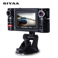 Carway F30 Car DVR 2 7 TFT LCD HD 1080P Dual Camera Rotated Lens Vehicle Driving