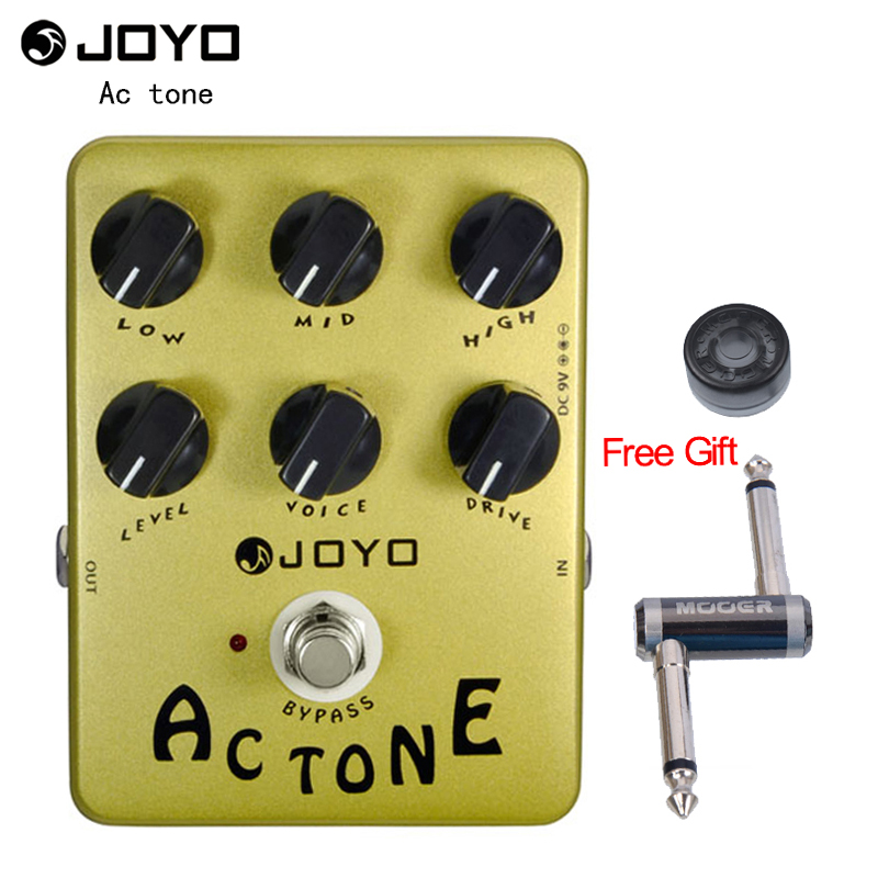 JOYO JF 13 AC Tone Vox Amp Simulator Guitar Effect Pedal True Bypass One MOOER PC
