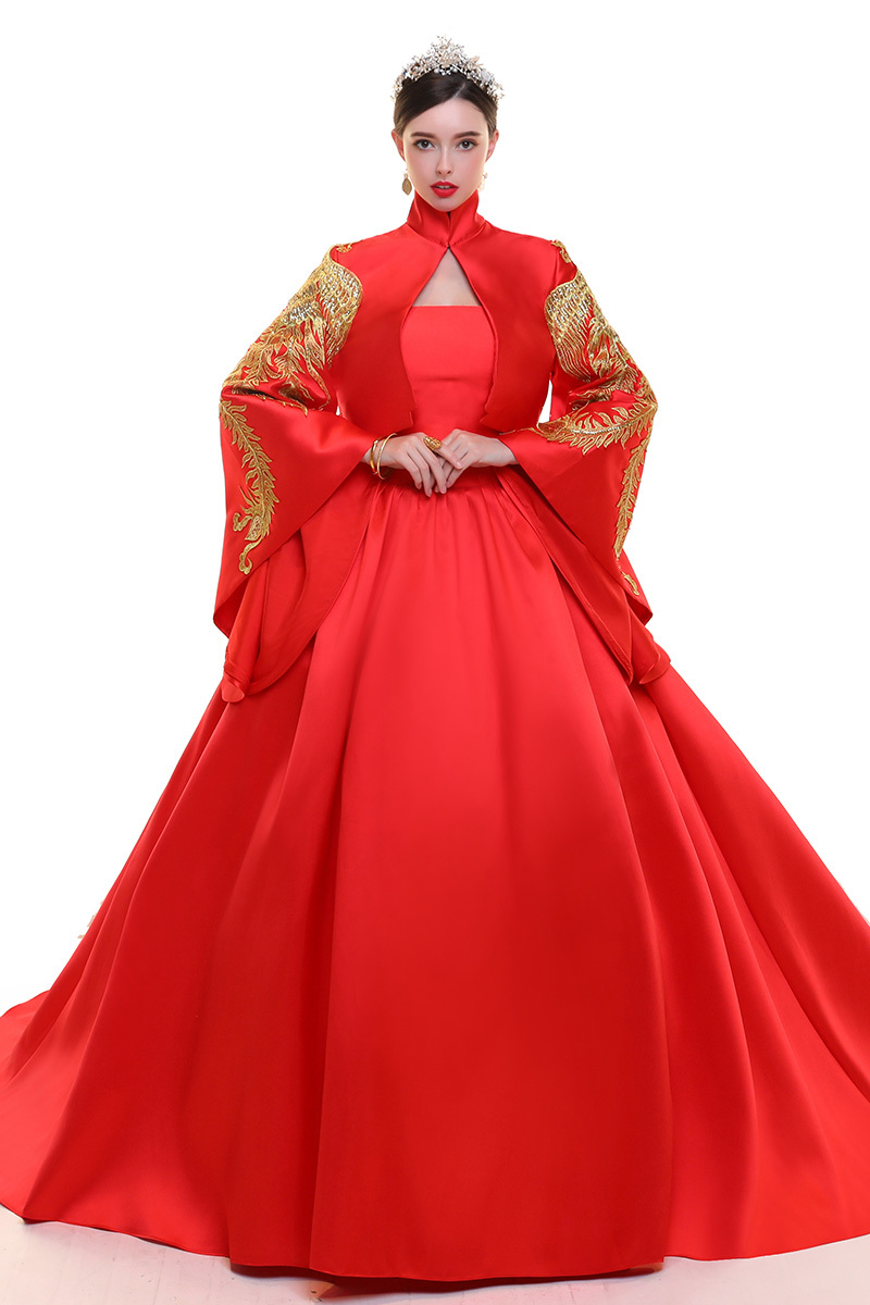 Colorful Traditional Evening Gowns Pattern - Wedding and flowers ...