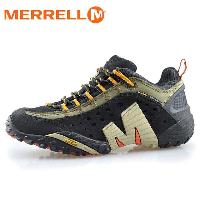 f5aa7df9c7d Merrell Hommes Léger Mesh Respirant Sport En Plein Air Randonnée Chaussures  V Fond Noir Haute Qualité