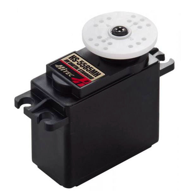 HiTec HS-5585MH Economical, High Voltage, High Torque, Coreless, Metal Gear Digital Sport Servo 17KG/60g for RC cars hdkj d3609s 60g high torque 9kg metal gear digital servo 180 degree rotation for diy rc plane car truck robot gimbal f16687