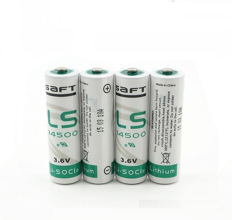 SAFT AA 14500 3.6V 2000mAh / 2400mAh / 2450mAh / 2600mAh Lithium Battery