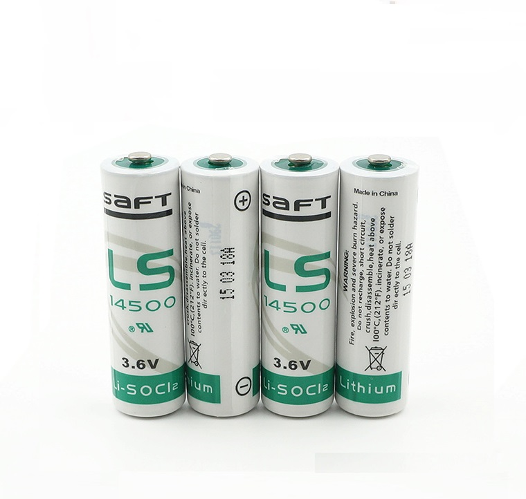 4PCS SAFT LS14500 LSG14500 LS-14500 CER14505 AA 3.6V lithium battery for facility equipment spare generic lithium battery