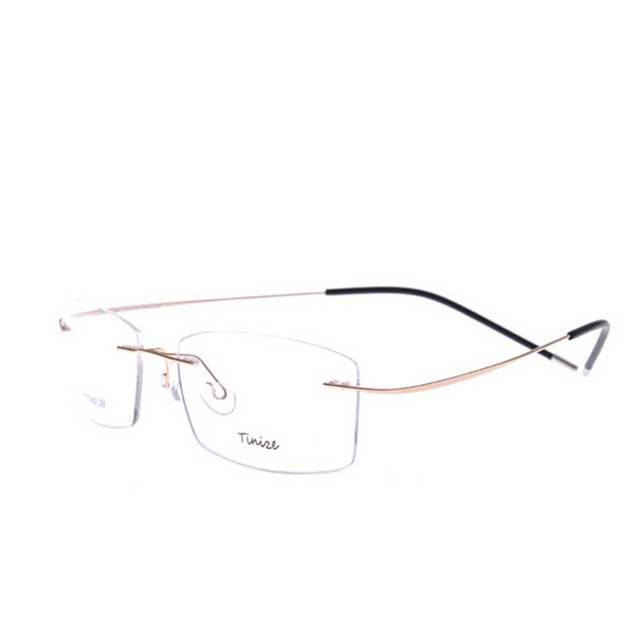 d5176031b4 DAVE 7 colors fashion rimless glasses frames   fashion memory titanium  eyeglasses frames 9 grams