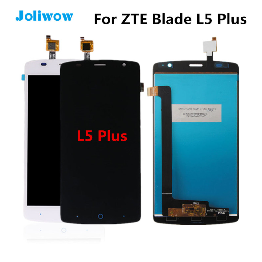 Tested For ZTE Blade L5 plus LCD Display Touch Screen Digitizer Assembly Replacement Parts For ZTE Blade L5 Plus Screen in Mobile Phone LCD Screens from Cellphones Telecommunications