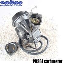 36mm PD36J Vacuum Carburetor case for kawasaki  400cc 1995-2010 universal other 300cc to 500cc racing motor UTV ATV