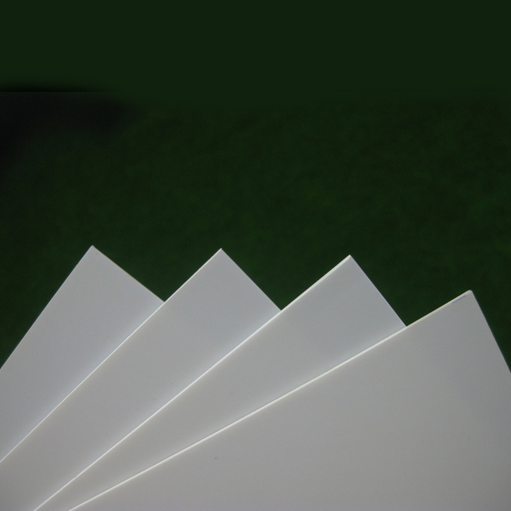 Image 2 - ABS0905 8pcs 0.5mm Thickness 200mm x 250mm ABS Styrene Sheets White NEW ArchitecturalModel Building Kits   -