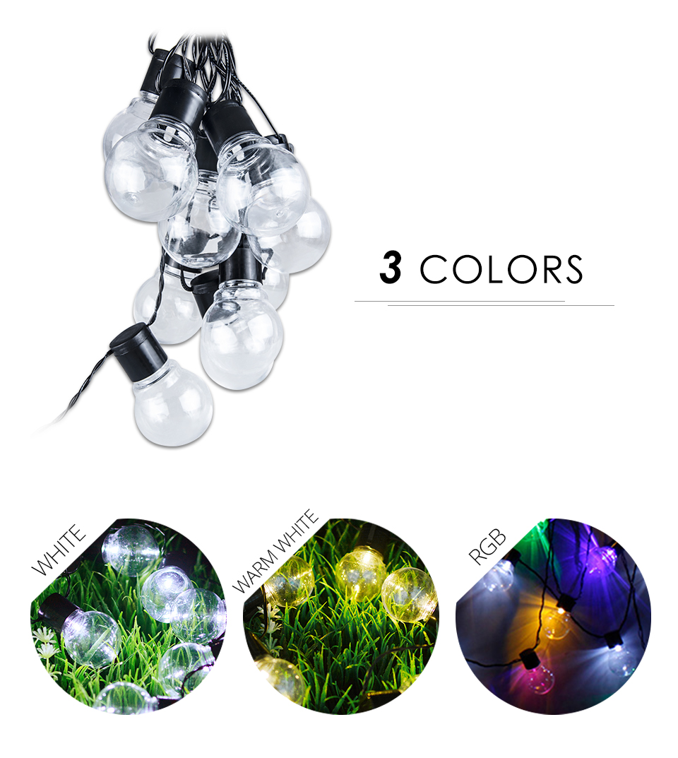 LED Solar Lawn Lamp Rechargeable Solar String Light 2.55M 1020 Bulb Waterproof Outdoor Garden Party Christmas Decor (10)