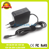 65W 20V 3.25A Type C USB C ac adapter laptop charger for Lenovo thinkpad T470 20HD 20HE T470s 20HF 20HG T570 20H9 20HA