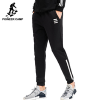 Pioneer Camp Free Shipping2015 New Fashion Mens Hoody Pants Casual Sportswear Joggers Fitness Sweatpants Outdoor Trousers