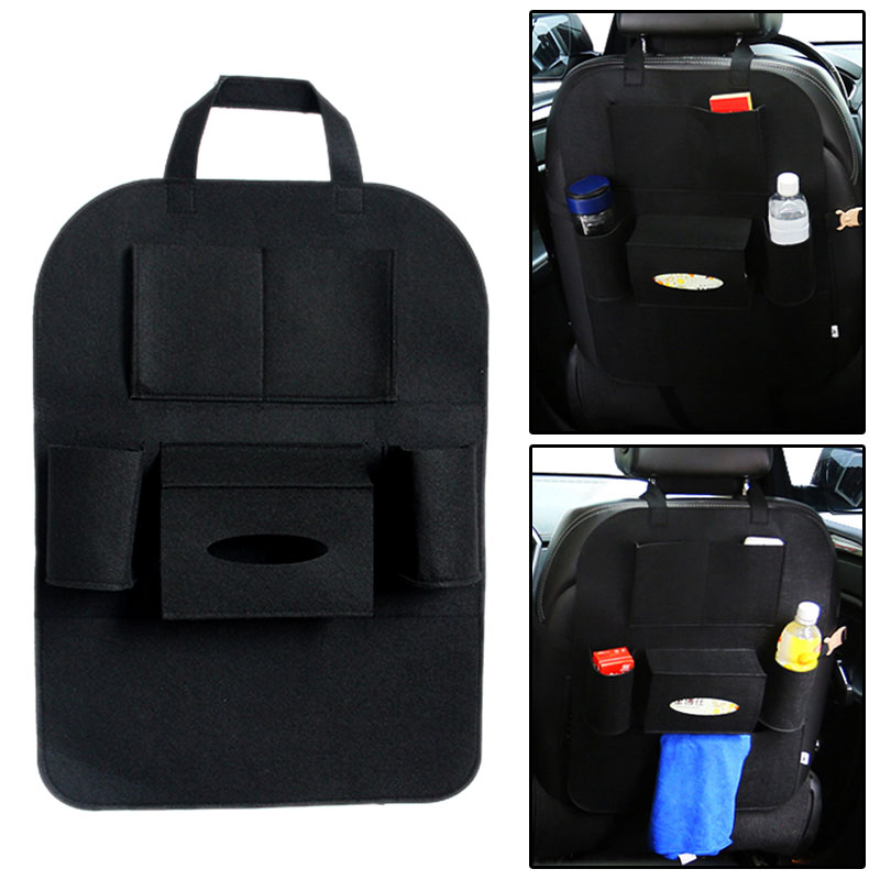 car seat bag storage multi pocket organizer car seat back bag car accessories car stying back. Black Bedroom Furniture Sets. Home Design Ideas