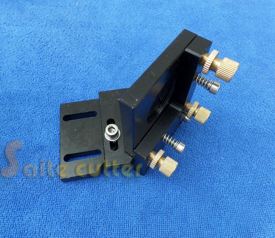 Adjustable CO2 Laser Mirror 25mm Mount For Reflective Lens Engraver Cutter