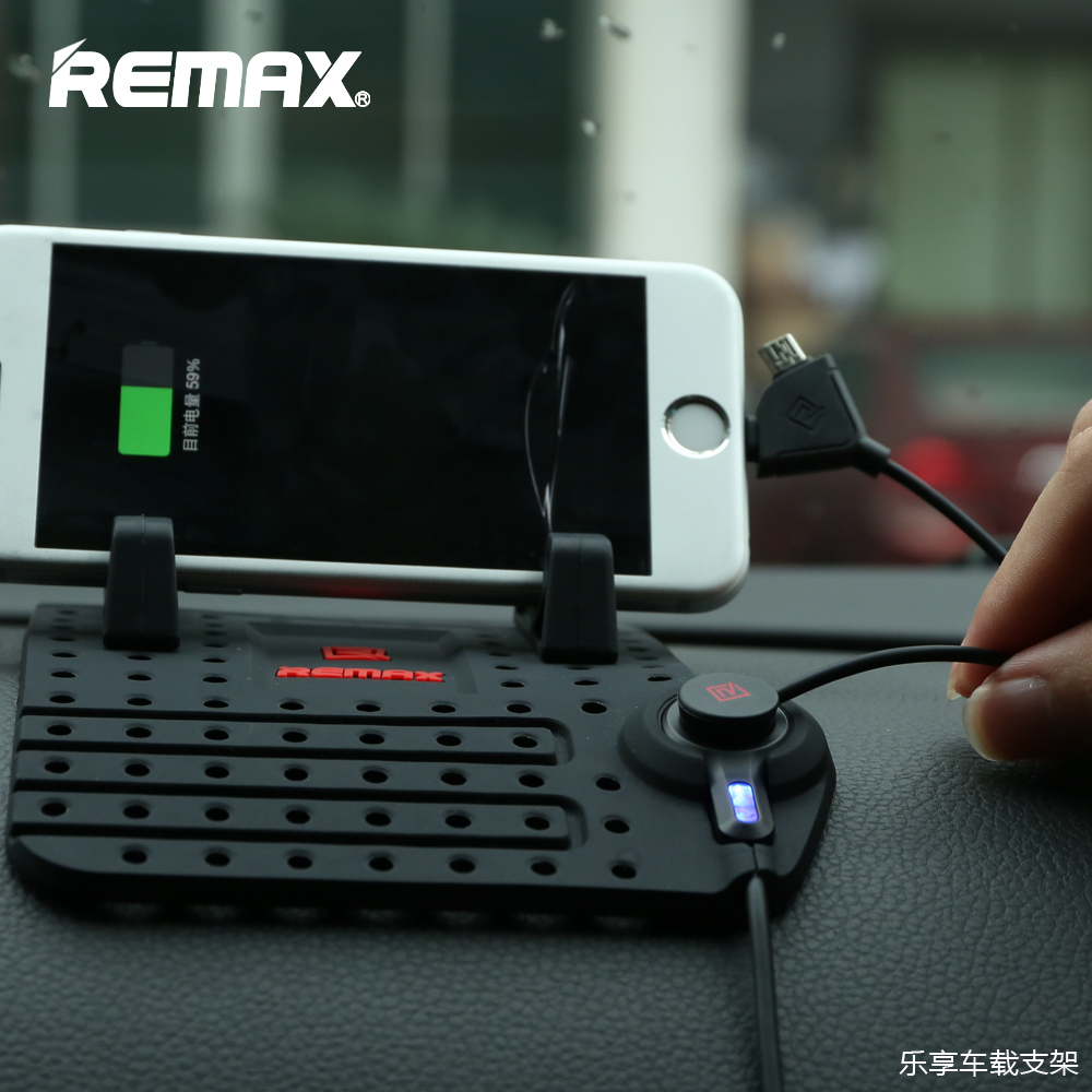 Remax Universal Mobile Car Phone Holder For iPhone font b GPS b font iPad iPod Samsung