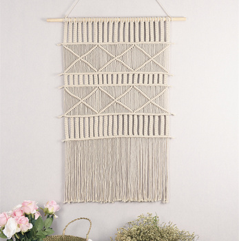 Bohemian Tapestry  Wall Blanket Occlusion Decorative Wall Hanging Painting Soft Decoration Handmade Wall Hanging