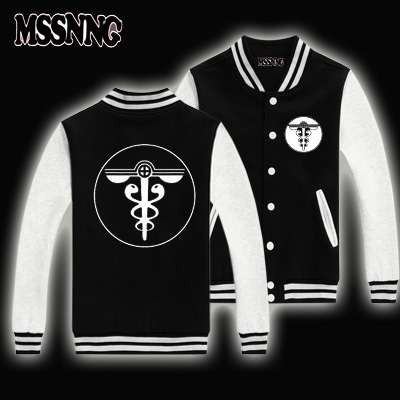 01da45a5c1 USA size 2016 New Fashion Brand Clothing Baseball Jacket Coats Psycho pass  Men Sweatshirt varsity Jackets Jacket plus-in Jackets from Men's Clothing  on ...