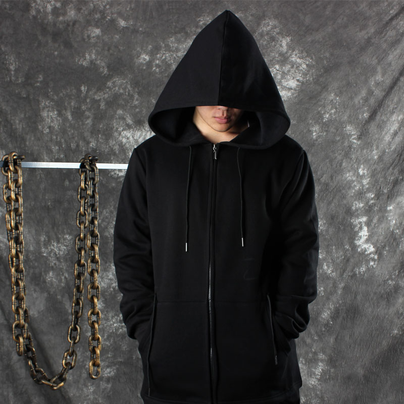 2017 black assassin 39 s creed hoodies men black cardigan. Black Bedroom Furniture Sets. Home Design Ideas