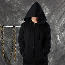 2017 Black Assassin's Creed  Hoodies Men Black Cardigan Mantle hip hop Outerwear assassins creed hoodies oversized clothes thic