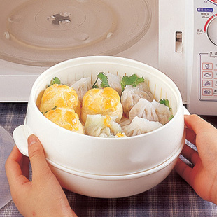 MINI ORDER $20 (MIX ORDER) Microwave Oven Circle Steamer Dedicated Microwave Box Steamed Large Lid