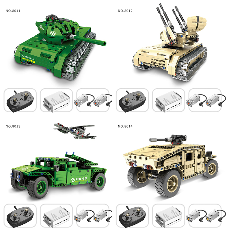 2017 New Building Blocks Special Forces Combat Armed Tank Vehicle UAV Car Remote Control Toys Military Series main battle tanks 8 in 1 military ship building blocks toys for boys
