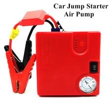 Автомобиль скачок стартер Мощность Bank 16800 мАч мини-автомобиль Батарея Booster Зарядное устройство 12 В супер пусковое устройство авто надувной насос стартера автомобиля