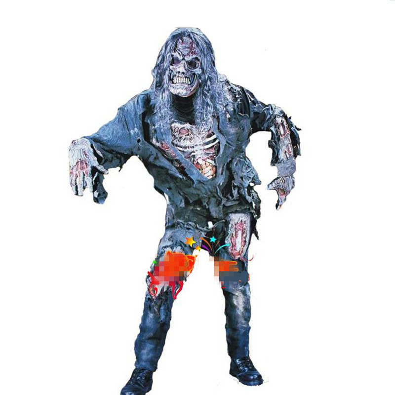 Most horrible devil costume adult horror zombie Halloween costume party special events Masquerade party ghost clothes