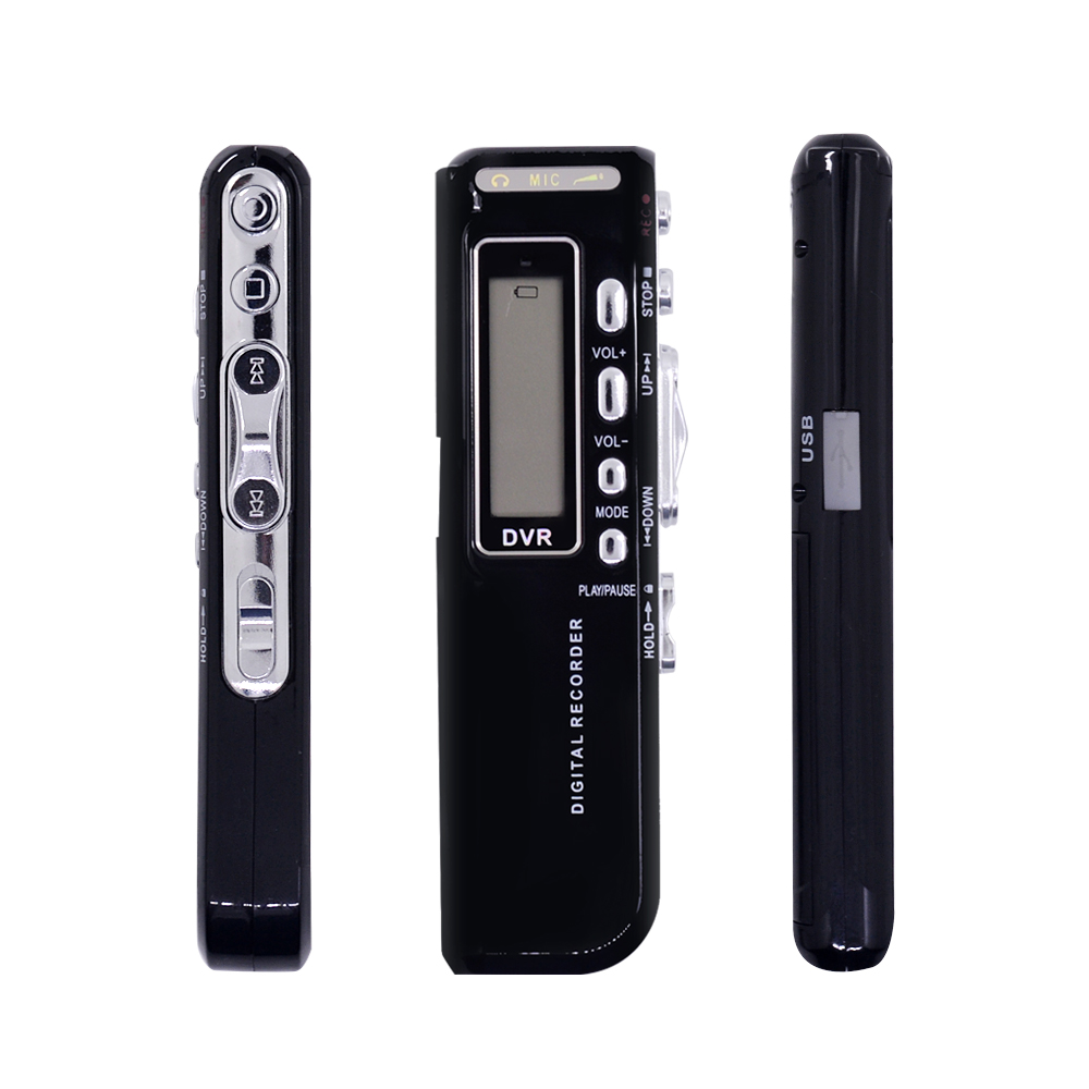 Chipal Digital Voice Recorder 8 Gb Usb Stift Stimme Aktiviert Digital Audio Voice Recorder Mp3 Player Diktiergerät Gravador De Voz Exquisite Verarbeitung In