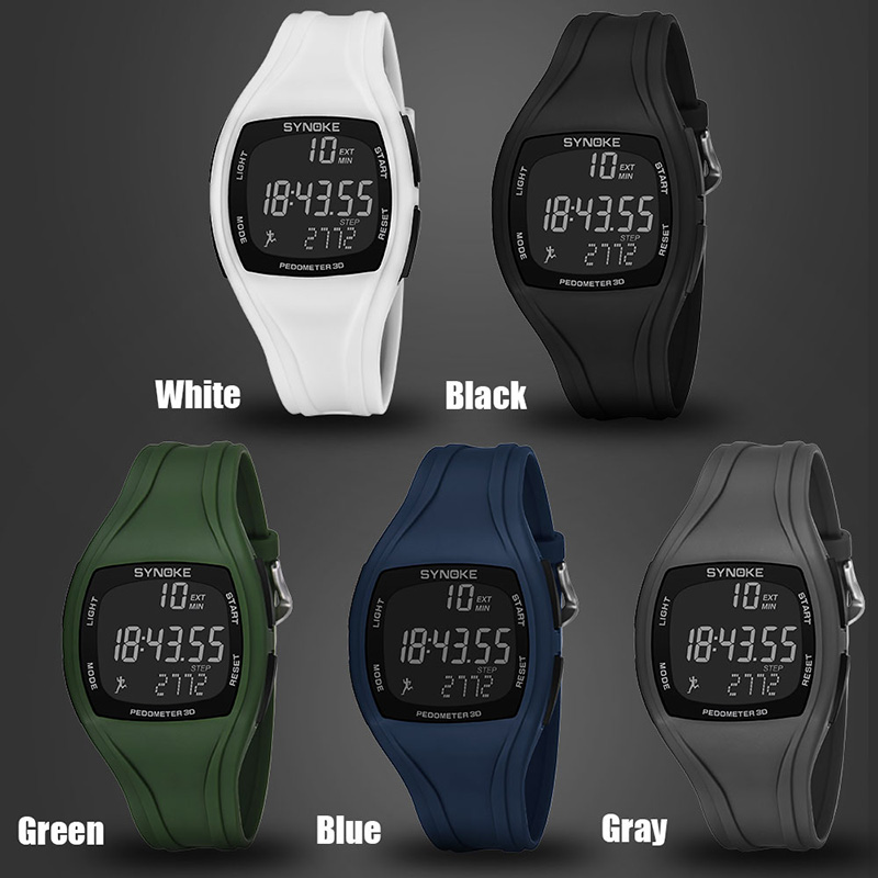 Hot Sale Male Digital Watches Outdoor Sports Students Watch Waterproof Electronic Watches Clock CXZ(China)