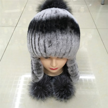 2016 new women Rabbit wool warm winter hat ear