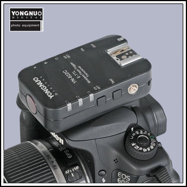 Yongnuo YN 622C YN-622C Wireless TTL Flash Trigger 1 Transceivers Supported For Canon DSLR System недорго, оригинальная цена