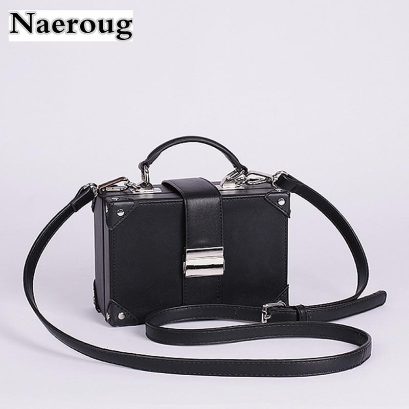 Luxury Brand Female Leather Box Handbags Clutch Women Tote Bag Messenger Shoulder Bags Original Quality Sac A Main Zar* Bolsas