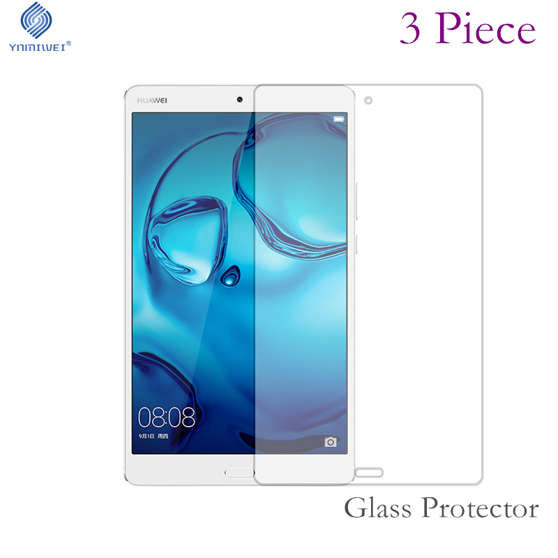 3piece Screen Protector Tempered Glass For Huawei Mediapad M3 Lite 8.0 inch CPN-L09 CPN-W09 CPN-AL00 tempered glass for huawei mediapad m3 8 4 m3 lite 8 10 inch screen protector for huawei mediapad m3 lite 10 1 8 0 inch glass