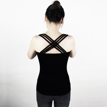 2017 New  Summer  Cotton Sexy  Hollow out  Camis Female Sleeveless Shirts Multicolor  Beach Women Tank tops  BS010