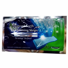 10% 1pcs 3D White Dental Bleaching Teeth Whitening Strips Double Elastic Gel Teeth Strips Whitening Oral Hygiene Tools smrp