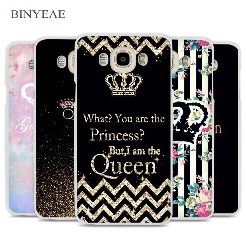 BINYEAE queen live quote Cell Phone Case Cover for Samsung Galaxy J1 J2 J3 J5 J7 C5 C7 C9 E5 E7 2016 2017 Prime