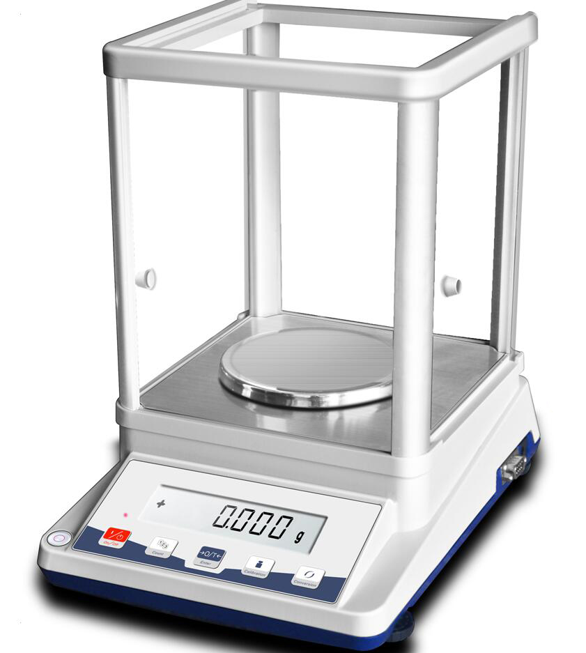 100g/1mg Precision Analytical Balance Electronic scale Electronic Balance Lab scale With RS232 Output Function 220V 50Hz