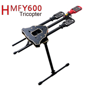 F10811 HMF Y600 Tricopter Copter Frame Kit w/ High Landing Gear & Gimbal Hanging Rod FPV RC Drone Y3