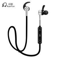 Huan Yun Bluetooth Earphone Wireless In Ear Waterproof Running Sport Earbuds Headset Stereo Bass With Microphone