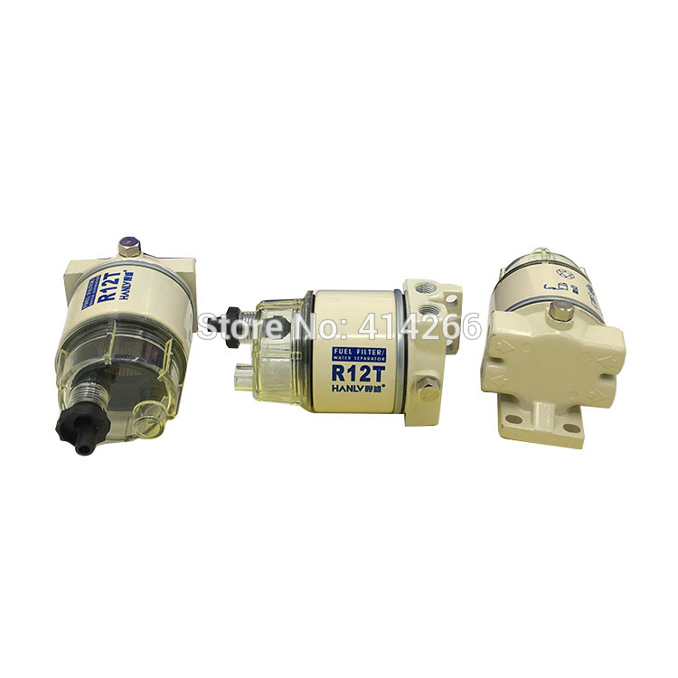Diesel Engine Fuel Filter Assembly : R t with bowl and assembly togther replacement fuel