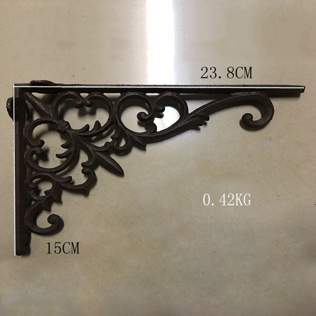 bracket cast white pewter products large inch victorian yester black shelf small iron home x brackets railway inches