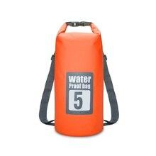 Водонепроницаемые сумки для плавания, сумка для хранения сухих мешков для рафтинга на каяке, спортивные сумки для путешествий, комплект оборудования 15л 20л
